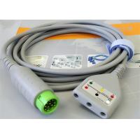 Compatible 12 Pin ECG Monitor Cable , Patient ecg trunk cable For Hospital