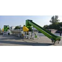 Quality scrap rubber tires recycling machinepet recycling machinery for sale