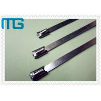 Quality Nature Color Cable Accessories Self Locking Stainless Steel Cable Ties Free Samples for sale
