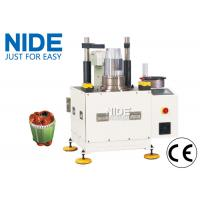 Buy AC Servo Motor Coil Insertion Machine / Semi-auto Stator Winding Insetiong at wholesale prices