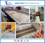 Quality PE PVC WPC Profile Extrusion Line Wood Plastic Making Machine for sale