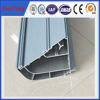 Quality Aluminum profile silver anodisized t track slot aluminum / Anodized aluminum tumblers for sale