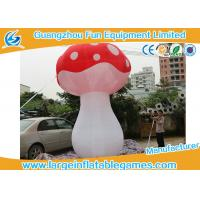 Quality 3.5mH Ligthting Inflatable Mushroom Props Model Water Proof Material for sale