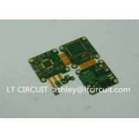 Quality ENIG Plating Rigid Flexible Printed Circuit Board Green Solder Mask 6 Layer for sale