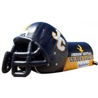 Quality Customized inflatable mascot football tunnel/inflatable helmet without tunnel for sale