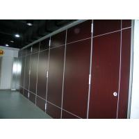 Quality Elegance Movable Partition Walls With Top Hung System , 100mm Thickness for sale