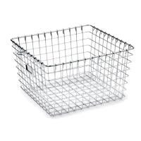 Quality High Strength Metal Sterilization Trays Wire Basket Stackable For Washing Processes for sale