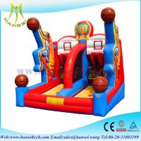 Quality Hansel Red inflatable Slam Dunk basketball game for children sports game for sale