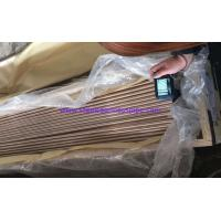 Buy cheap Straight Copper Tube ASTM B111 O61 C70600 C71500 Used for Boiler, Heat Exchanger from wholesalers