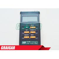 Quality Datalogging Digital Solar Power Meter Tester TES-1333R (RS-232 Interface) for sale