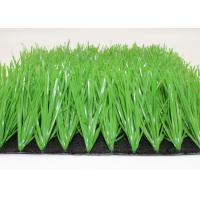 Quality 50mm L Stem Shape Synthetic Grass For Soccer Fields Durable Light Green for sale
