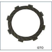 Aluminum alloy motorcycle clutch friction parts plates with 8 teeth for Kawasaki GTO125 for sale
