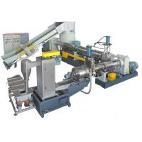Buy PE / PP Film Plastic Granulator Machine With Aggregator For Recycling at wholesale prices