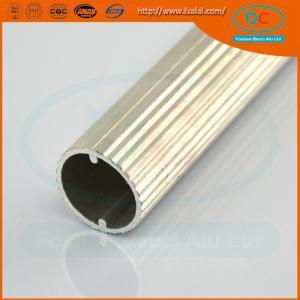 Quality 6063 T5 Anodized aluminum wardrobe profile, wardrobe profile,SS brush aluminum profile for sale