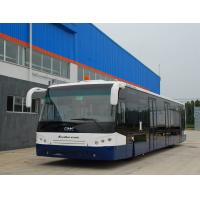 14m Picking up 120 passengers bus airport Ramp Bus Fully Aluminum