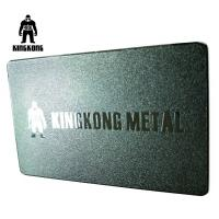 Quality Creative Lasered Metallic Embossed Business Cards Frosted Finished Gold Silver Color for sale