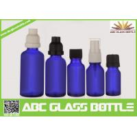 Quality Made In China 10ml 15ml 20ml 30ml 50ml Blue Oil Glass Bottle,Amber Oil Glass Bottle for sale