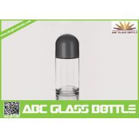 Quality Hot Sale 50 ml Frosted Roll On Glass Bottle With Crew Cap for sale