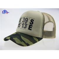Quality Plastic Buckle Closure Mesh Trucker Caps Washed and Breathable for Boys for sale