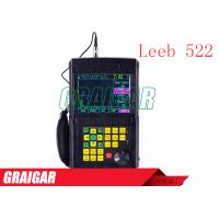 Quality Portable Leeb522 Ultrasonic Flaw Detector Scanning Range 2.5-10000mm for sale