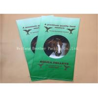 Quality Light Weight BOPP Laminated PP Woven Bags Gravure Printing For Flour Packaging for sale