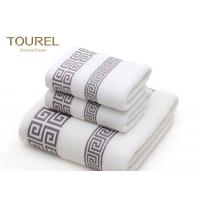 Quality Zero Twist Terry Spa Bath Towels / Airplane Hotel Bathroom Towels for sale