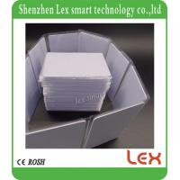Quality low frequency ID Proximity Cards 125Khz TK4100 White Card plastic material both side Printable blank rfid card for sale