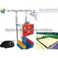 China PU Commercial Spray Foam Insulation Equipment For Roof Building Component Ratio 1:1 on sale