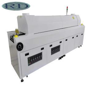 800S SMT Assembly Equipment , Reflow Soldering Machine Fast Heat Exchange 28KW