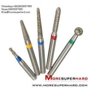Quality Dental Diamond Burs  Alisa@moresuperhard.com for sale