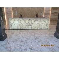 New Arabescato  White Marble Chinese Marble Slabs Previous to Light for sale