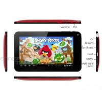 China 7 inch andriod tablet pc, capacitive screen, android 4.0; WM8850 CPU on sale