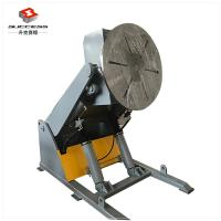 Quality 3T Hydraulic Tilting / Rotation Pipe Welding Positioner With Hand Control Foot Pedal for sale
