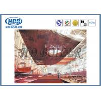 Quality High Thermal Efficiency Water Wall Panels Heat Exchanger For CFB Boiler Water Cooling for sale