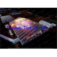 Clear Span tent, PVC Roof Transparent wedding Tent for 600 seater for sale