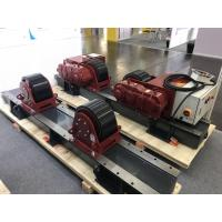 Quality 380V 50Hz 3 Phase 20 Ton Tank Turning Rolls With One Drive Unit And One Idler Unit for sale