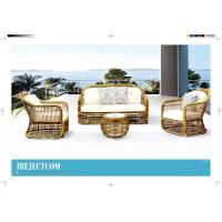 Quality new product hotel rattan sofa garden sofa set wicker outdoor furniture for sale