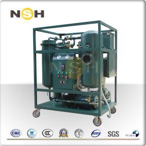 Quality 50Hz Turbine Oil Filtration Machine Demulsification Dehydration Custom Color for sale