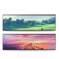 Quality Horizontal Stretched Bar Lcd Display 32 38 Inch 2/3 Cut Special Size for sale