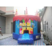Quality Birthday Cake Bouncy Castle for sale