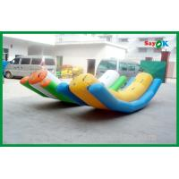 Quality Big Funny Inflatable Water Toys Inflatable Iceberg Water Toy For Fun for sale