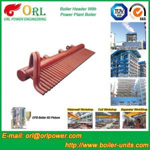 Quality High Pressure CFB Boiler Header Steam Boiler Header with ASME for sale