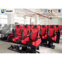 Quality Large 4D Movie Theater , Electronic 4DM Motion Cinema Equipment for sale