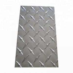 Quality Decoration Aluminium Checker Plate , Customized Diamond Plate Sheets for sale