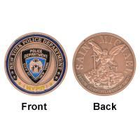Police Department Custom Guard Commemorative Stainless Steel Coins for sale
