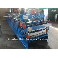 Quality Roof Double Layer Roll Forming Machine Hydraulic Cutting 350H Steel Materials for sale