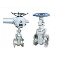 Quality Electric Operate Wedge Gate Valve, Metal Valves RF, RTJ, BW, SW, NPT Connection End for sale