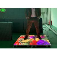 Buy P8.9 Portable LED digital seamless dance floor , waterproof led party floors at wholesale prices