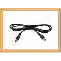 Quality 12V DC Male to Male Custom Cable Assembly DC 5.5X2.1 mm Power Cable for sale