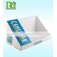 China Full Color Cardboard Counter Displays Promotion Gifts Corrugated Pop Displays With Tiers on sale